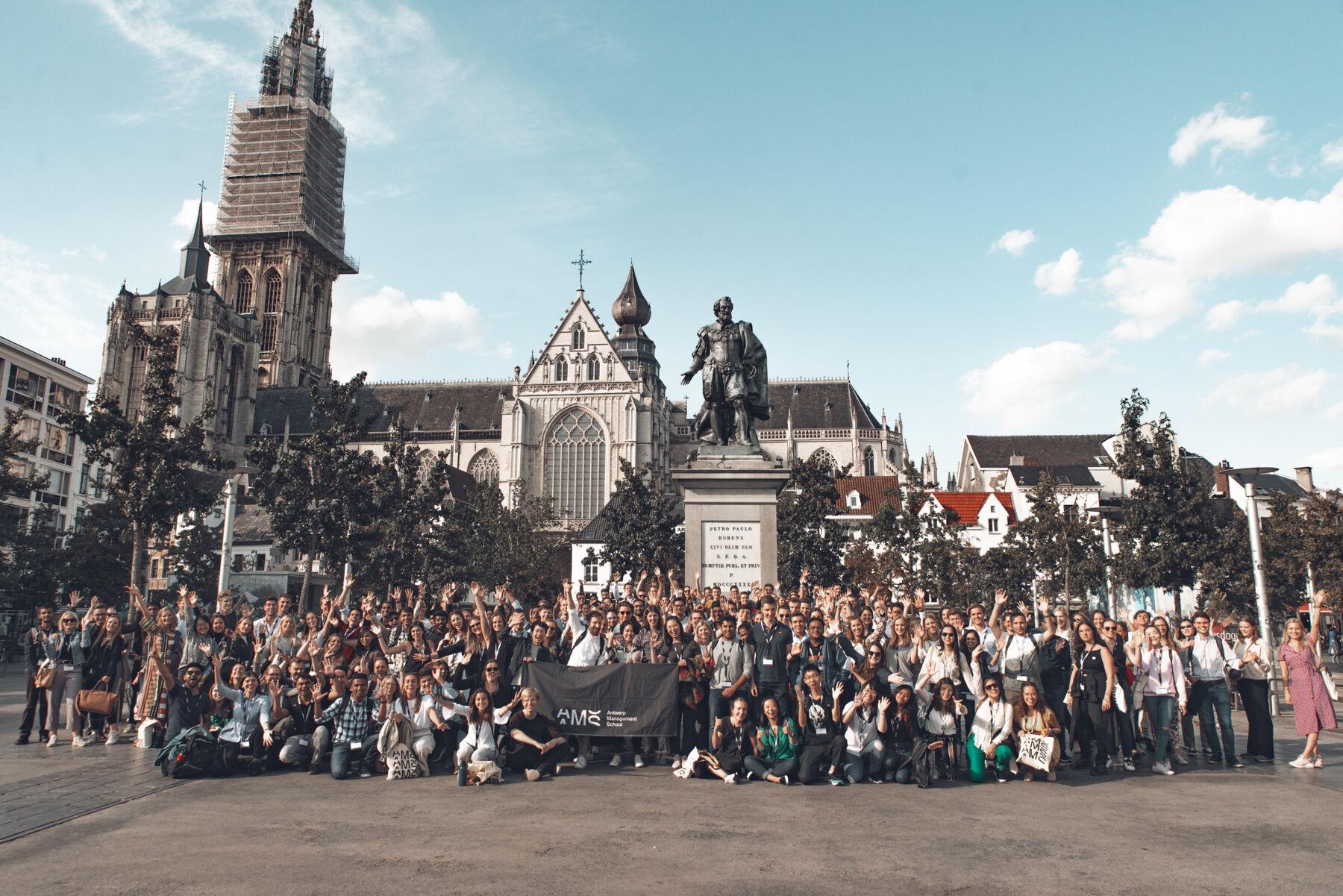 FTM studenten groepsfoto