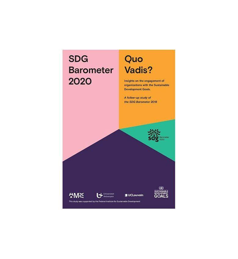 Cover SDG Report 2020 AMS